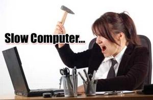 מחשב שעובד לאט